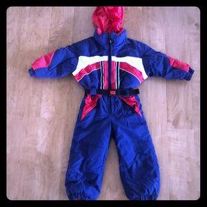 Obermeyer one piece snow suit